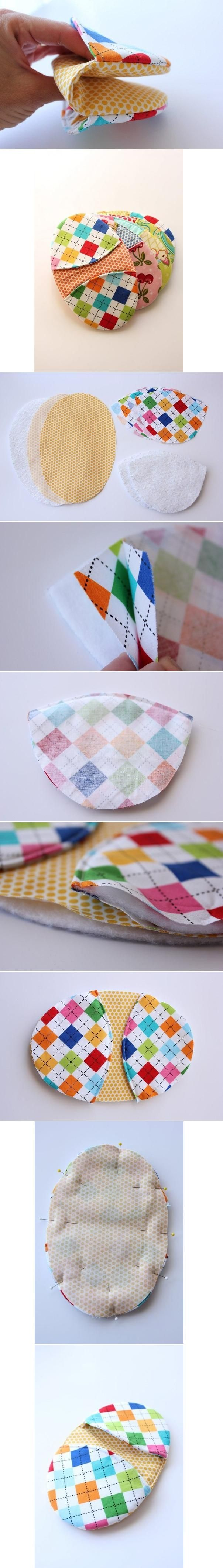 Pot holders are needed in the kitchen and you can make one for...