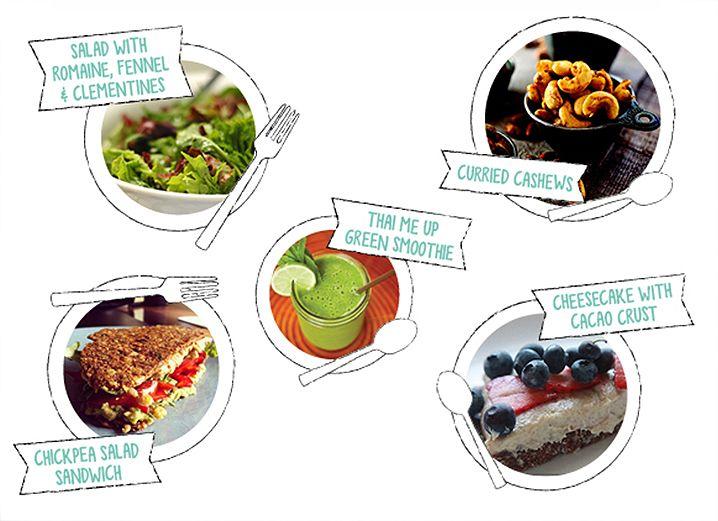 Easy picnic recipes vegetarian