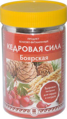 """Продукт белково-витаминный """"Кедровая сила - Боярская"""""""