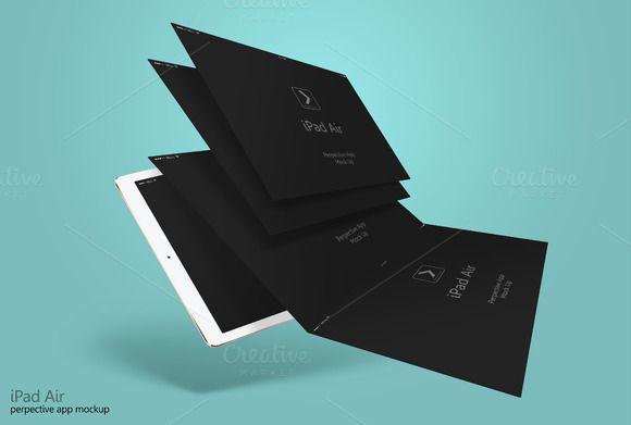 Perspective App Ipad Air by adedivasyaheera on @creativemarket