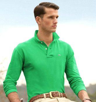2baa96b49f Polo en coton piqu茅 manches longues polo lacoste homme vert ...