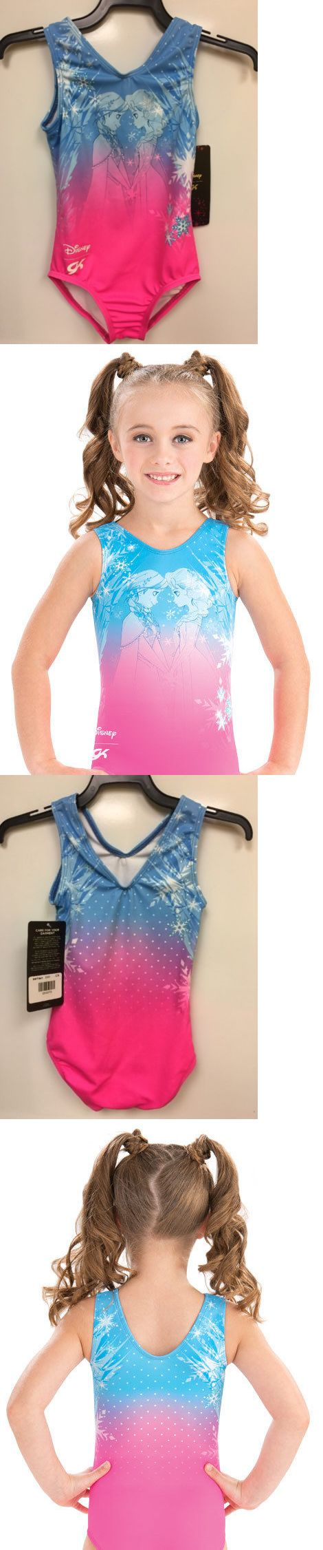 Youth 159170: New Gk Disney Anna And Elsa Snowflake Leotard. Size Child Small Cs. -> BUY IT NOW ONLY: $39 on eBay!