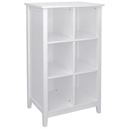 Kids Caboodle Glacier 6 Cubby Shelf