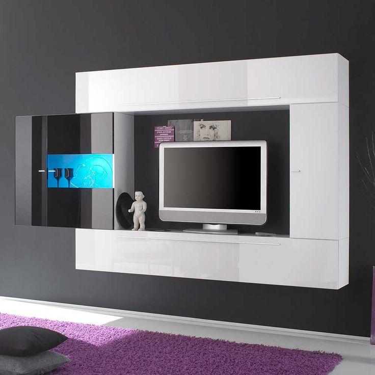 Die besten 25+ Tv board hängend Ideen auf Pinterest Tv wand - h ngeschrank wohnzimmer wei