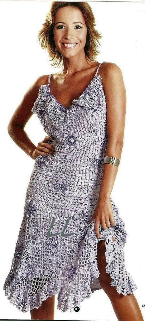 vestido de crochê 3
