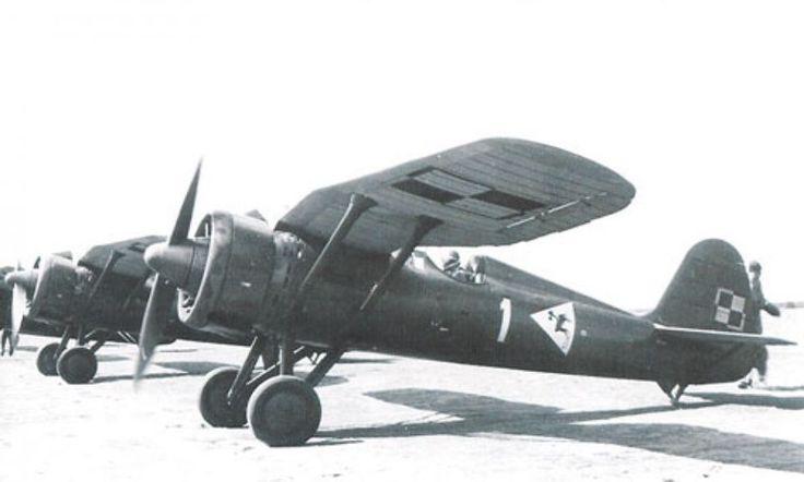 PZL P.11c, 112 eskada 1 Pułk Lotniczy (112 Squadron 1 Air Regiment) in Warszawa