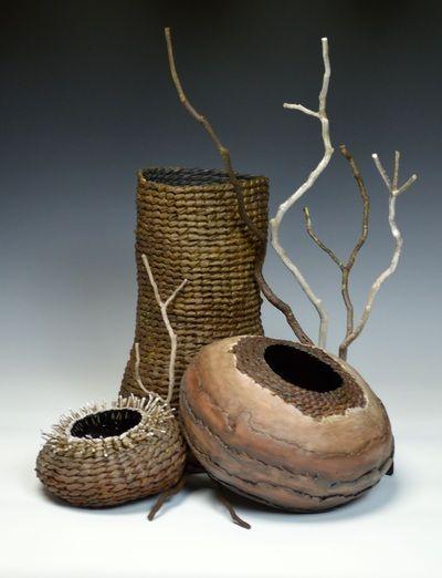 Art Sculptures for Rustic Home Decor by Matt Tommey - Art Baskets