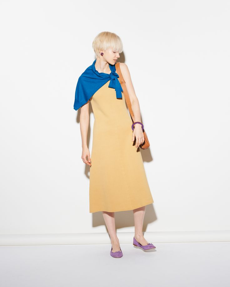 121 best images about UNIQLO Dresses u0026 Skirts on Pinterest | Jersey Flare dress and Cotton skirt