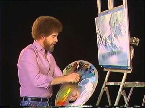 A fan told Bob Ross he couldn't paint due to color blindness. Bob did an episode to show it can be done