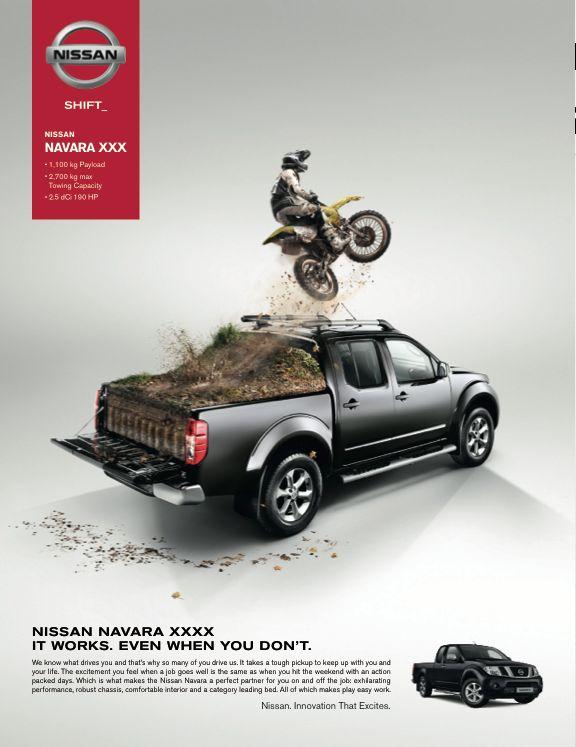 Nissan Navara by Vessela Ignatova, via Behance