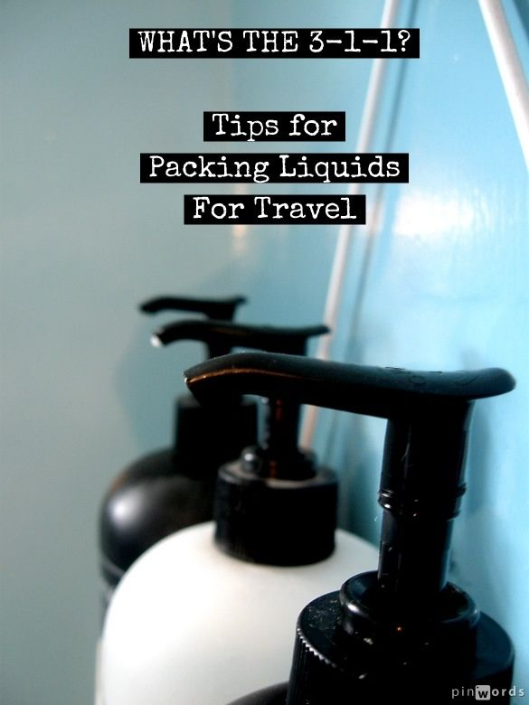 For an explanation of the TSA's 3-1-1 liquids rule and #travetips for how to pack your liquids - Click Here --> http://mymelange.net/mymelange/2009/06/travel-tip-tuesday-whats-the-3-1-1.html
