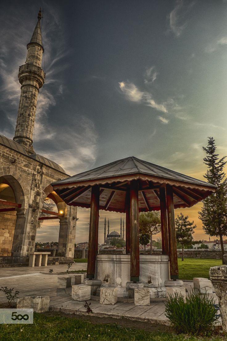 Muradiye Mosque by Ismail Tuncalp on 500px  gezi ...