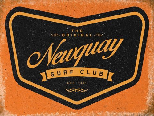 Vintage style metal wall sign #plaque #picture newquay surf #surfing gift ,  View more on the LINK: 	http://www.zeppy.io/product/gb/2/172077980728/