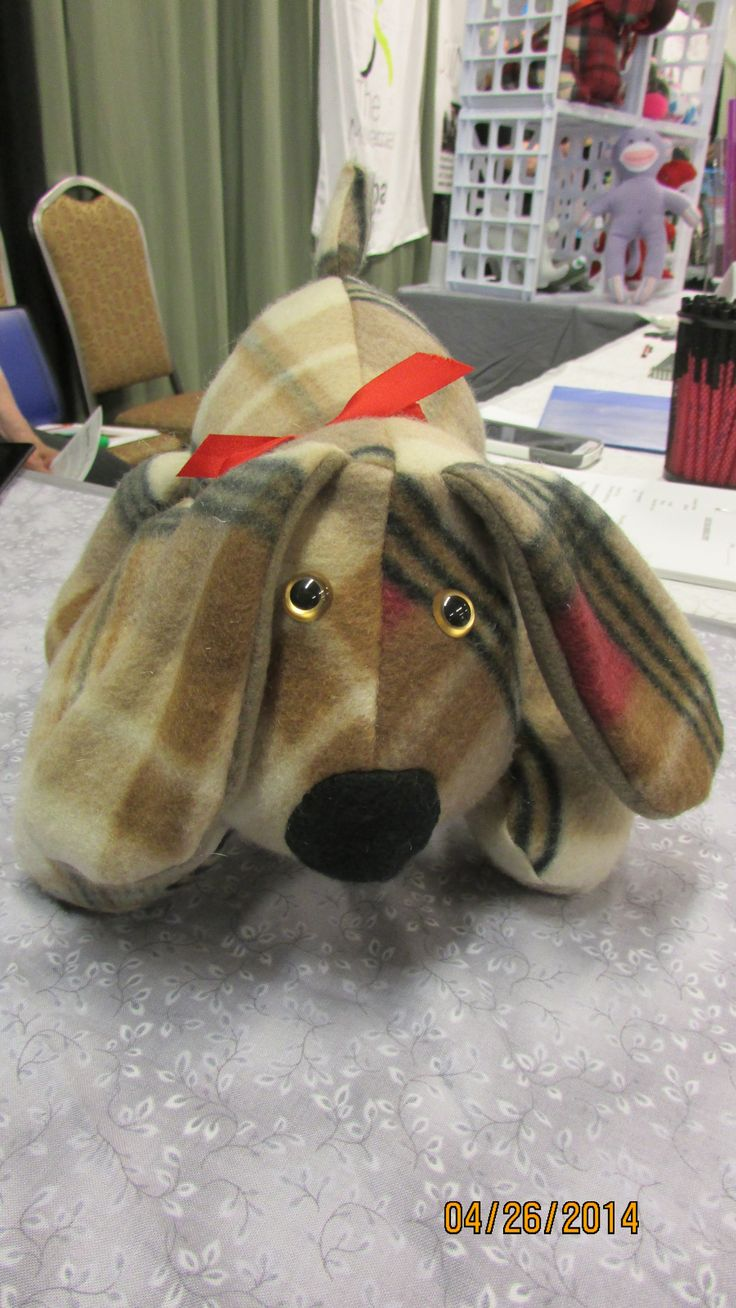 Puppy Dog Pete. A Funky Friends Factory pattern