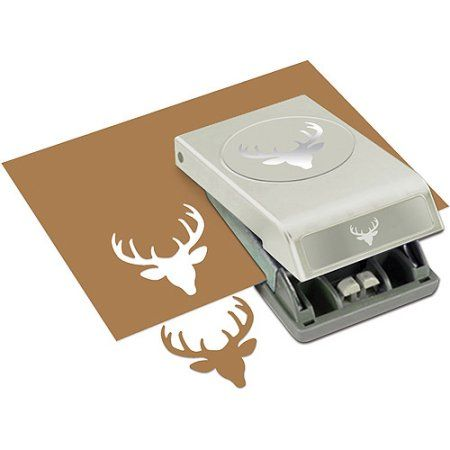 """Free Shipping on orders over $35. Buy Large Punch, Deer Head, 2"""" at Walmart.com"""