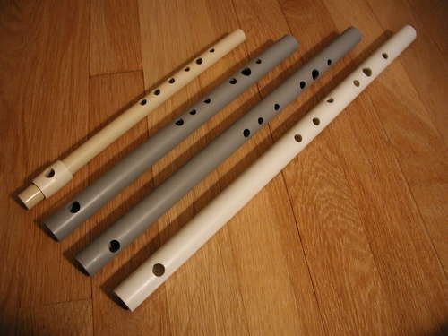 How to make PCV pipe flutes!