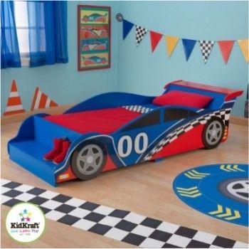 Les 25 meilleures id es de la cat gorie chambre voiture de - Lit voiture de course ...