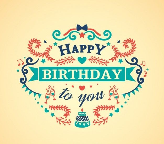 287 best B-day Greetings images on Pinterest Happy birthday - birthday card template
