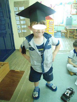 Τα μικιά μου , arts kindergarten: Καπέλα αποφοίτησης(κατασκευή)