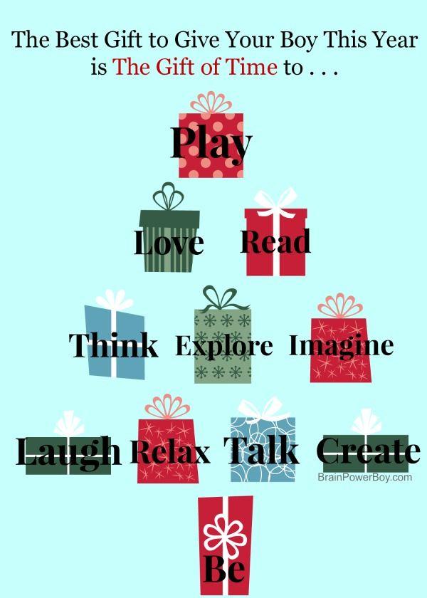 Non-material christmas gift ideas