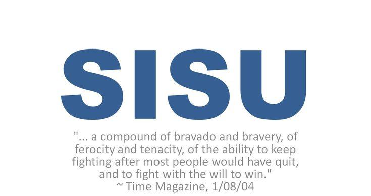 Finnish SISU