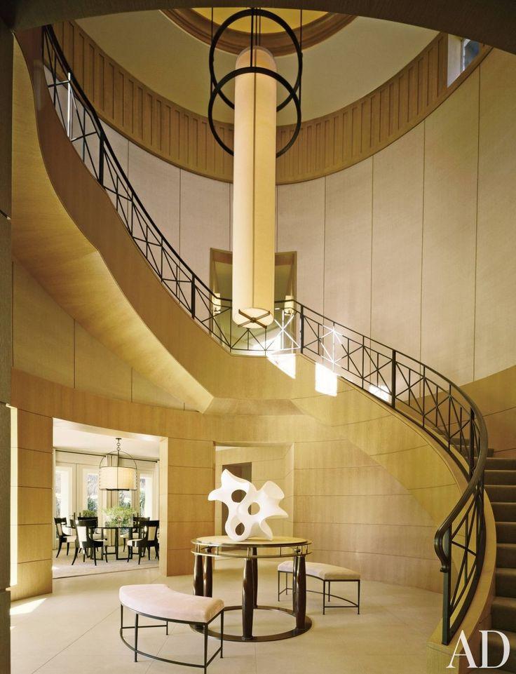 Best Modern Staircase Hallway Thomas Pheasant Las Vegas Nevada 640 x 480