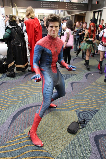 Apologise, sexy spider man cosplay opinion
