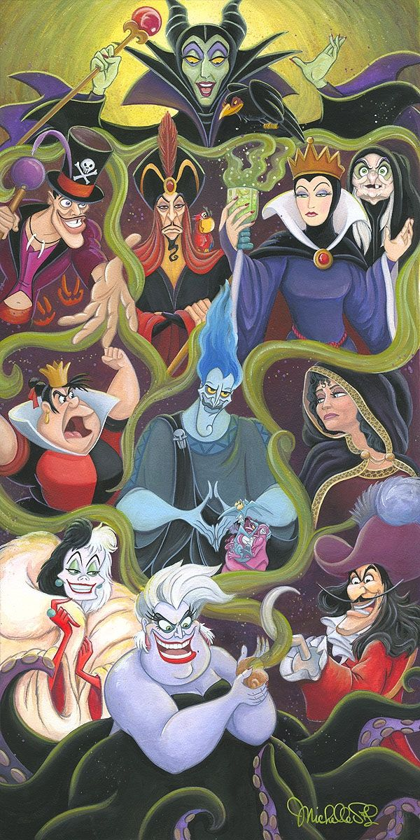 Collection Of Villains With Images Evil Disney Disney