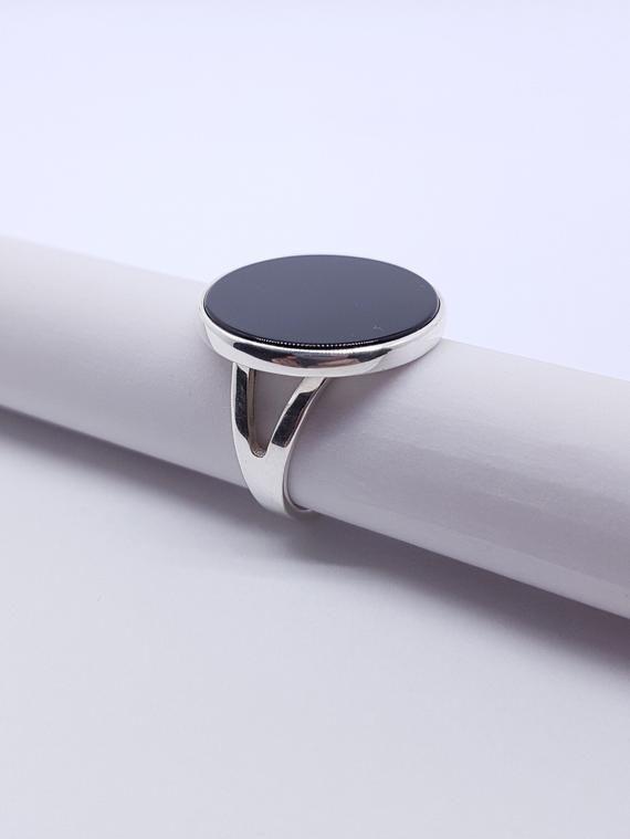 Beautiful Silver Plated Natural Black Onyx Gemstone Earrings,Women Jewelry Wedding Jewellery Gemstone Jewellery Aniversary Jewellery