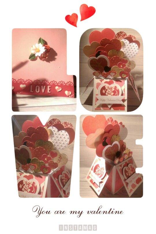 Box popupcard valentine