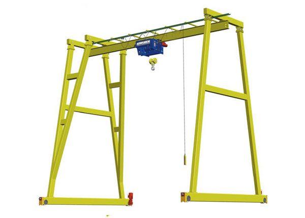 1 Ton Single Girder Gantry Crane Gantry Crane Cranes For Sale Crane