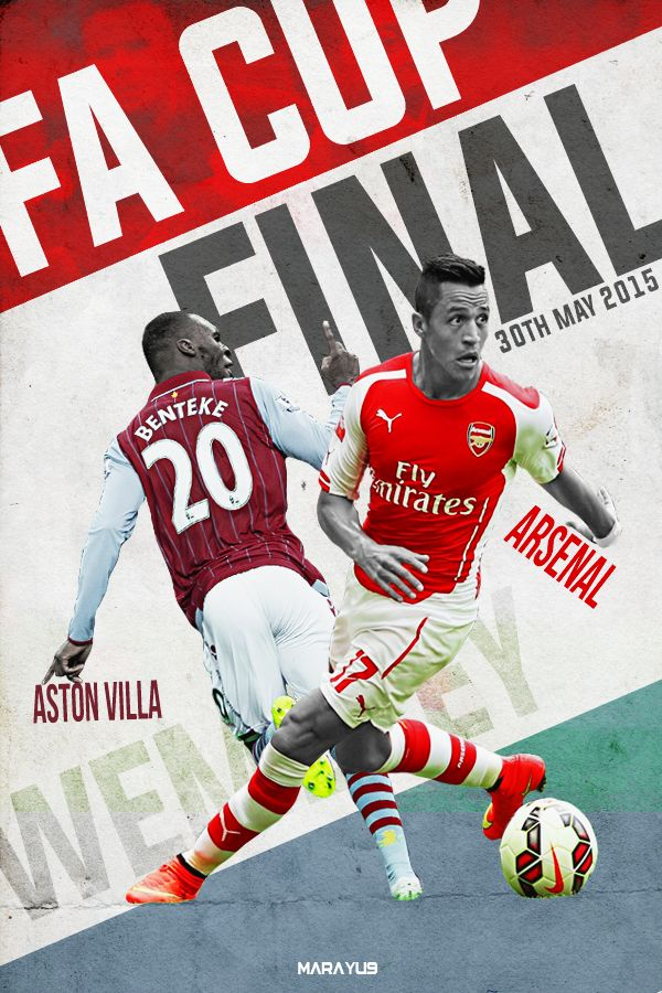 Today, FA Cup Final! Can't wait!