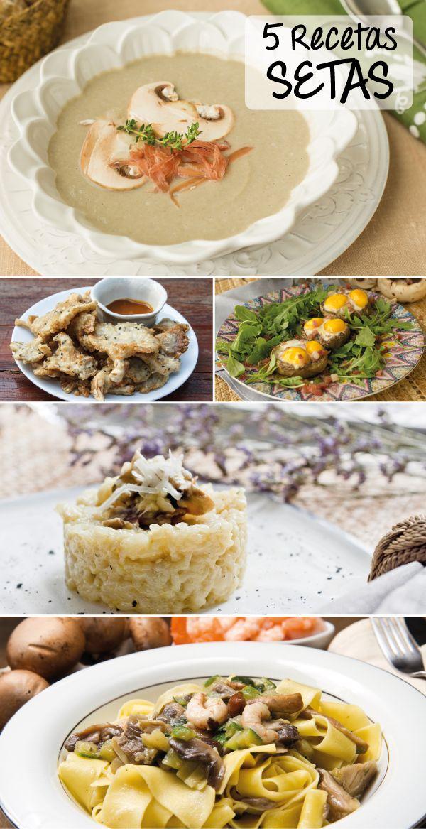 #Recetas de #Otoño. 5 recetas con #setas