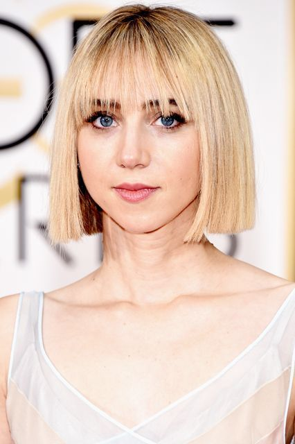 33 Photos Of Bold, Beautiful Short-Hair Inspiration #refinery29  http://www.refinery29.com/cool-short-haircut-pictures#slide-1  We've been reaching for our straighteners almost daily ever since we spotted Zoe Kazan's sleek bob at this year's Golden Globes....