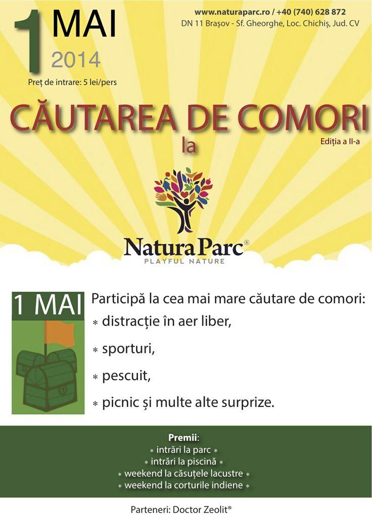 Cautarea de Comori, editia a II-a, 1 Mai 2014