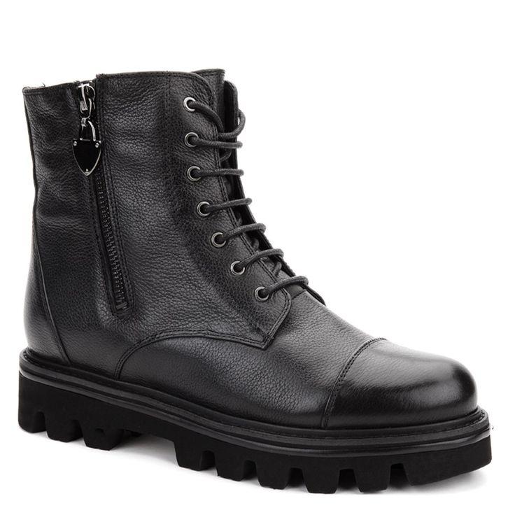 Женские Ботинки зимние. Цвет(а): Черный. Материал -  | Купить Ботинки зимние интернет-магазин обуви Вестфалика