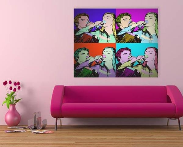 Tela Pop Art