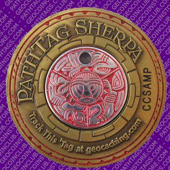 Pathtag Sherpa Geocoin