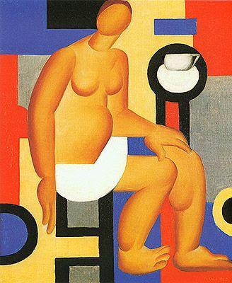 Estudo (La tasse), 1923 / Tarsila do Amaral