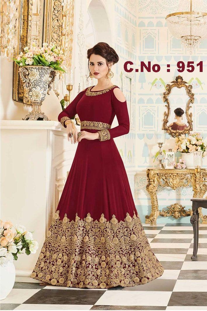 Buy Floor Length Anarkali Salwar Kameez Bollywood Wedding Suit From Manufacturer Ebay Online Shopping Anarkalisalwarka Indian Dresses Anarkali Gown Fashion