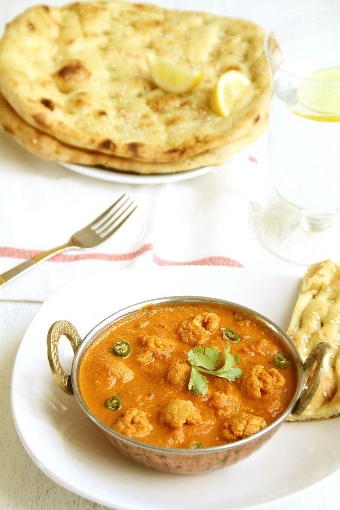 Journey Kitchen: Gobi Butter Masala - Cauliflower { Butter Chicken Style }