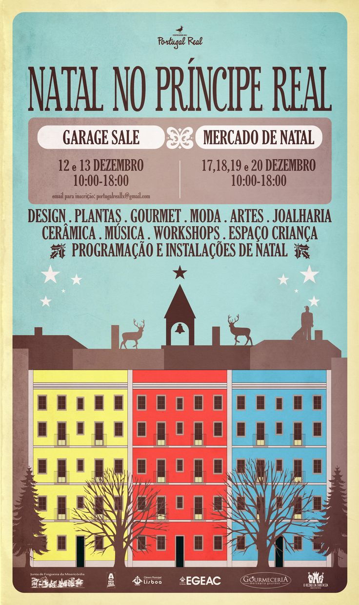 Christmas in Principe Real from 17 to 20 December, from 10:00 to 18:00