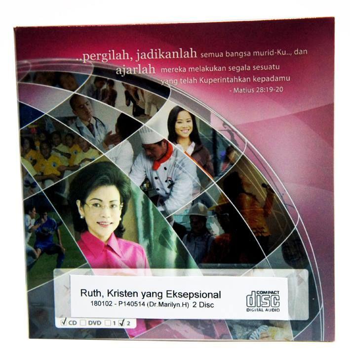 [Audio CD] Ruth, Kristen yang Eksepsional  #IndriGautama #Kekristenan