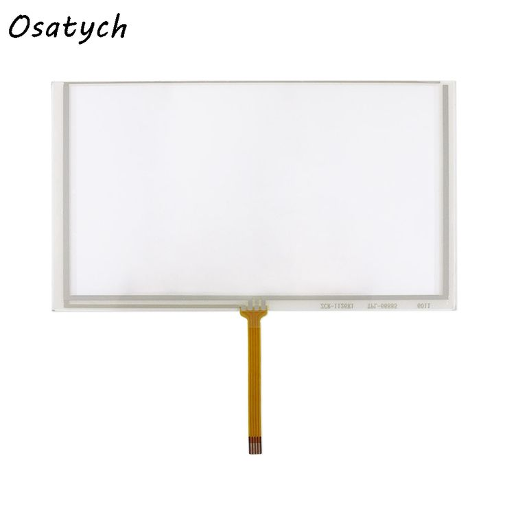 Replacement For New  6.2 Inch 4 Wire Resistive Touch Screen Panel /Digitizer For Car DVD Player /GPS 155*88mm //Price: $18.03 & FREE Shipping //     #hashtag4