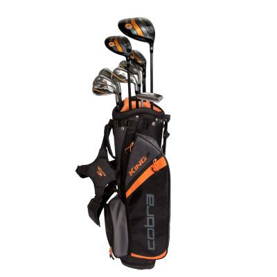 "Cobra Juniors' King 10-Club Set - Ages 13-15: ""Cobra King Junior Set The Cobra King Junior Package Set… #GolfClubs #GolfApparel #GolfShop"