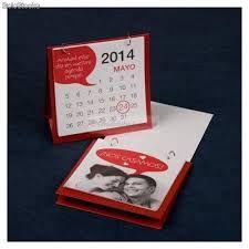 Calendario de mesa pequeño