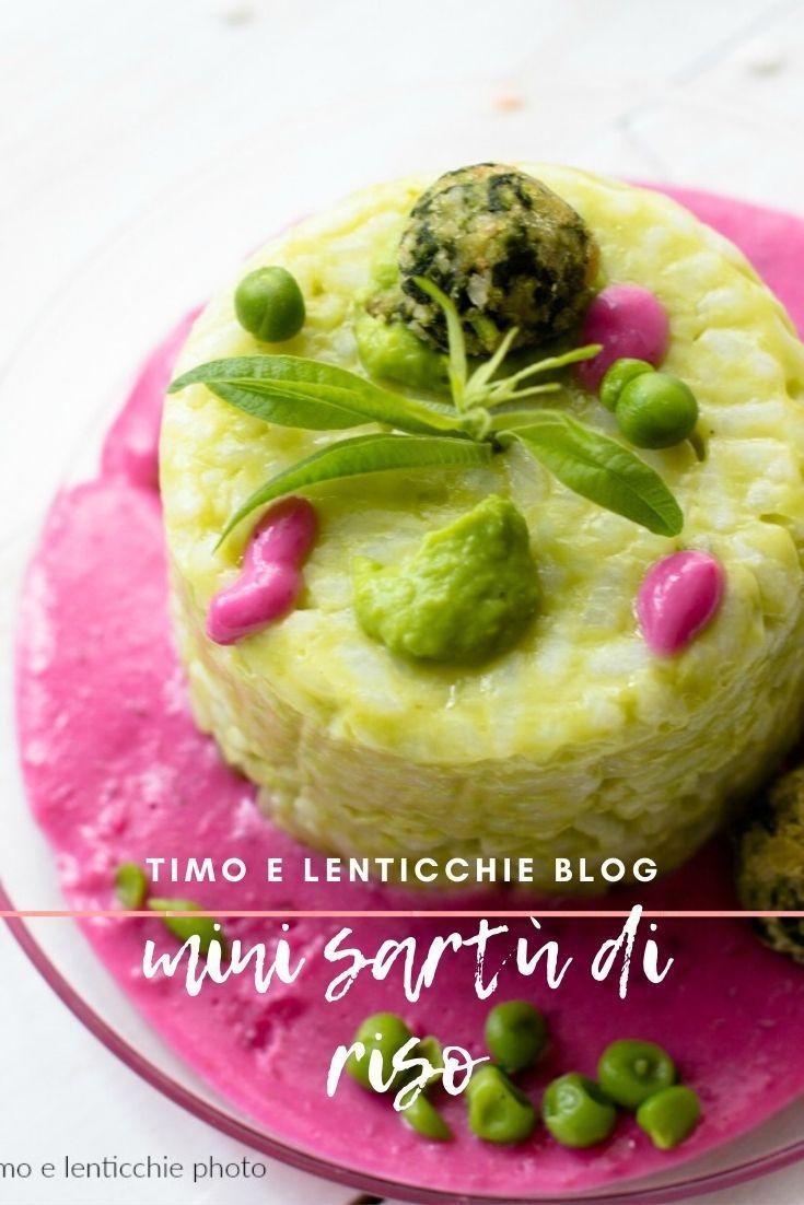 Mini Sartù Di Riso In Bianco Con Verdure Ricetta Vegetariana Timo E Lenticchie Nel 2020 Ricette Ricette Vegetariane Lenticchie