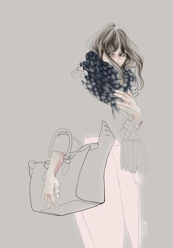 Street fashion 5 by Agata Wierzbicka. Fine art prints available at Lumarte Art Online: http://www.lumarte.eu/en/agata-wierzbicka