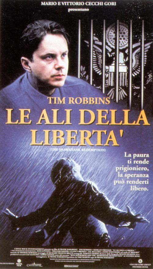 Le Ali della Libertà (The Shawshank Redemption) - scheda del film Le Ali della Libertà, trama di Le Ali della Libertà, cast, locandina, trailer, commenti, data di uscita, al cinema