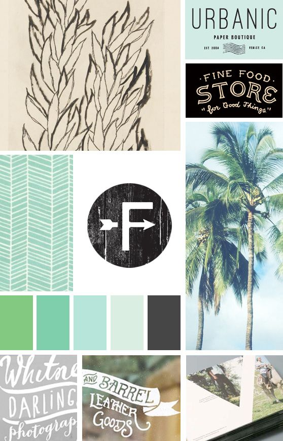 Feeling Green Moodboard : Cheeky Design